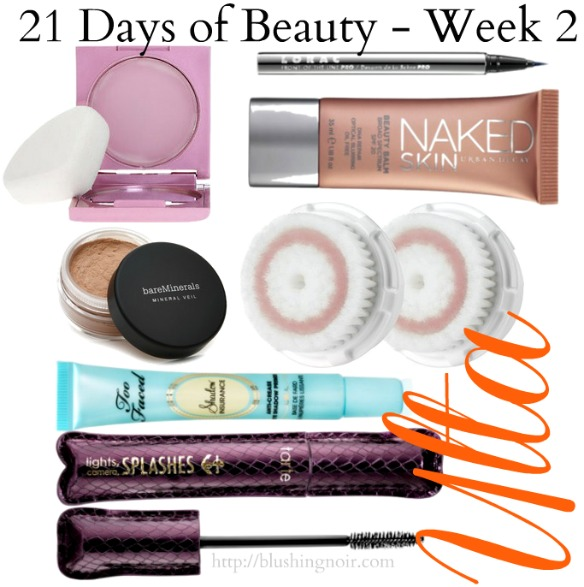 Ulta 21 Days of Beauty Steals and Events Week 2