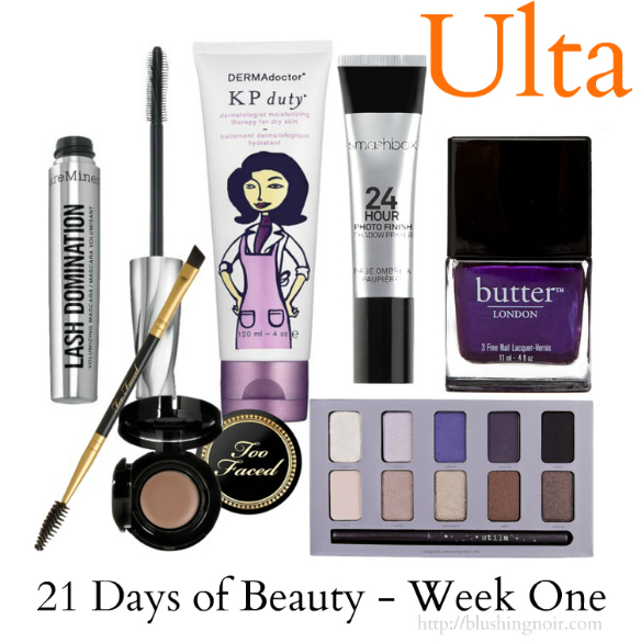 Ulta 21 Days of Beauty Week 1