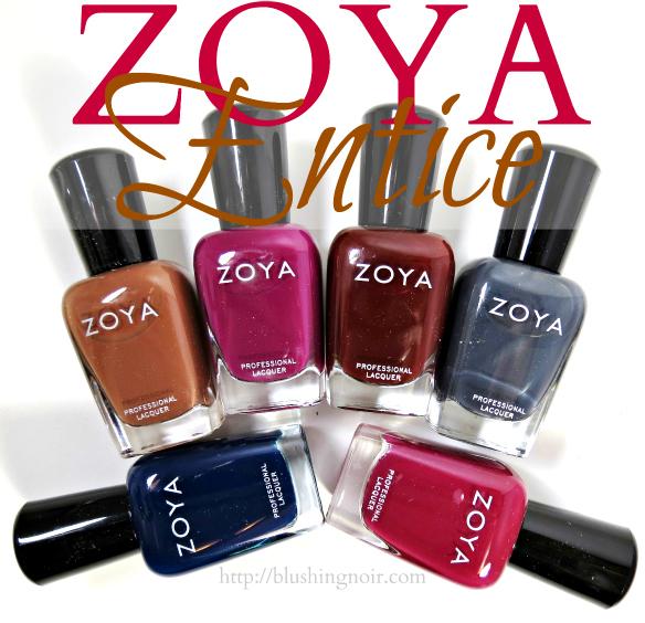 Zoya Entice Nail Polish Collection