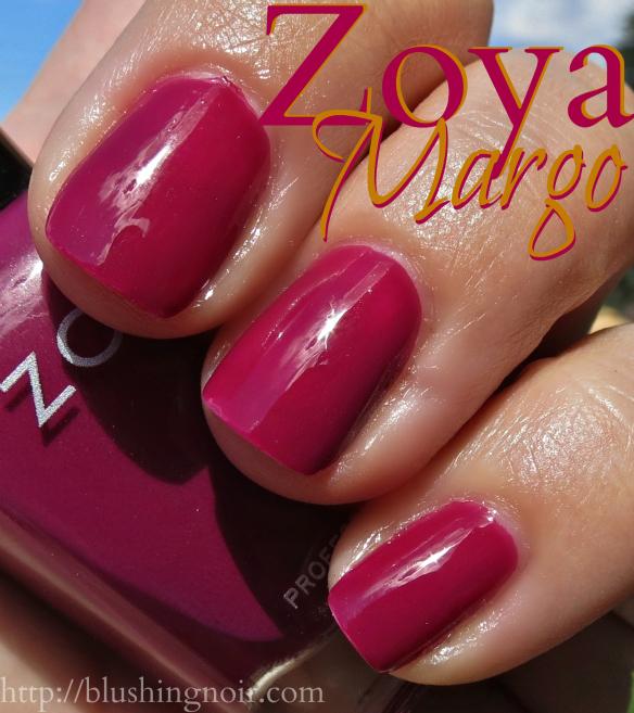 Zoya Margo Nail Polish Swatches