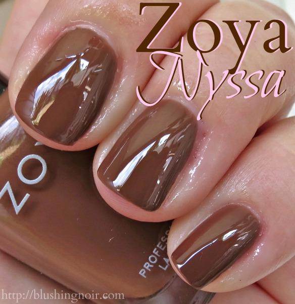 Zoya Nyssa Nail Polish Swatches