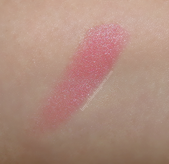 Bellapierre Pink Cheek and Lip Stain Swatches
