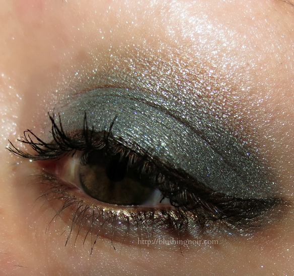 Chanel 232 Tisse Venitien Les 4 Ombres Eyeshadow EOTD
