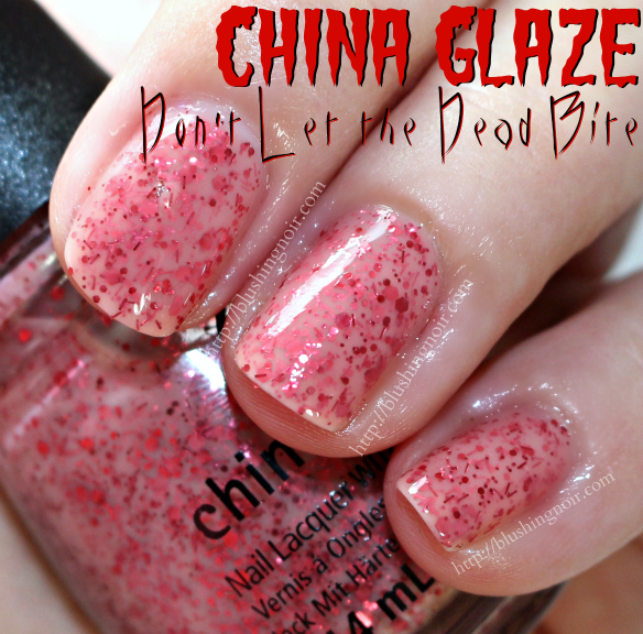 China Glaze Don't Let the Dead Bite Nail Polish Swatches