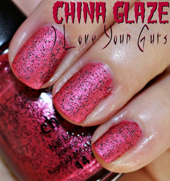 China Glaze I Love Your Guts Nail Polish Swatches