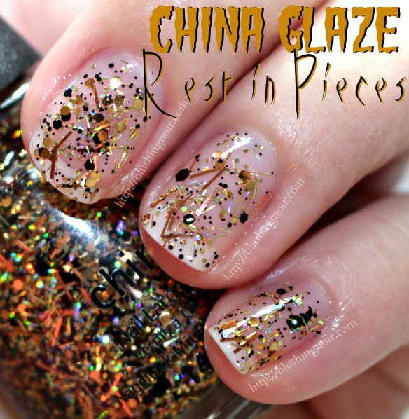 China Glaze Rest in Pieces Nail Polish Swatches