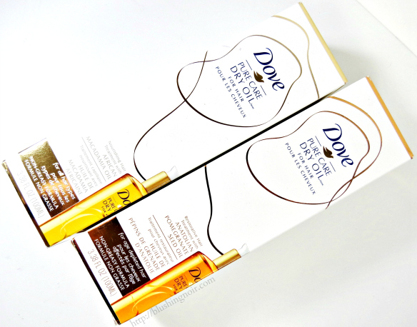 Dove Pure Care Dry Oil for Hair review