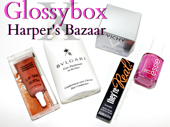 Glossybox Harper's Bazaar September 2014 Swatches Review