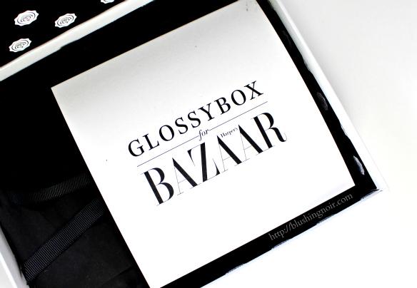 Glossybox for Harper's Bazaar September 2014