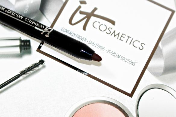 IT Cosmetics Black Brown No-Tug Waterproof Gel Eyeliner Swatches