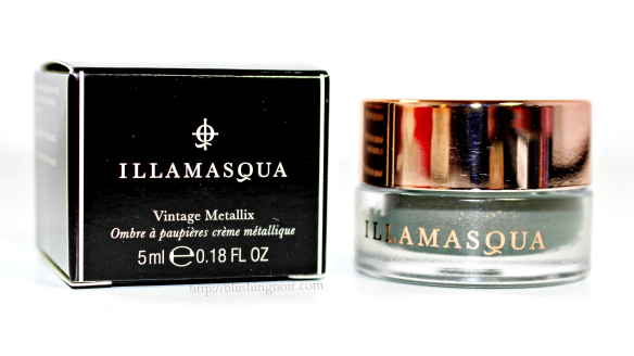 Illamasqua Bibelot Vintage Metallix Eyeshadow Swatches + Review – Once Collection