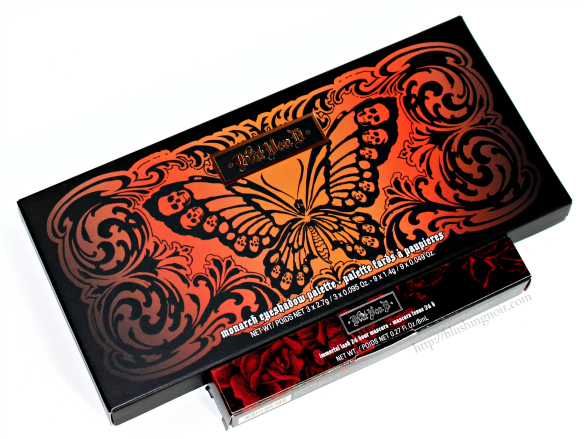 Kat Von D Monarch Eyeshadow Palette packaging