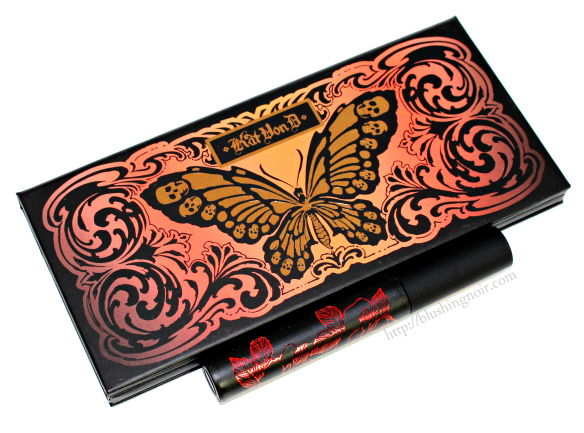 Kat Von D Monarch Eyeshadow Palette review