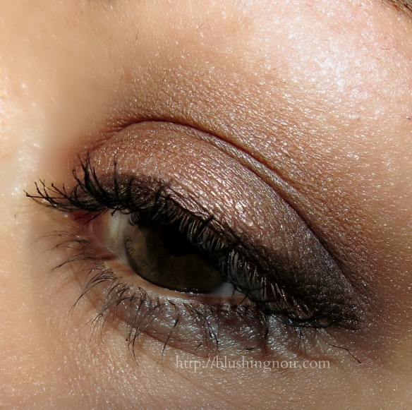 MAC An Amorous Adventure Eye Shadow Quad EOTD