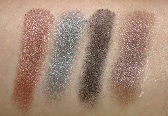 MAC An Amorous Adventure Eye Shadow Quad Swatches