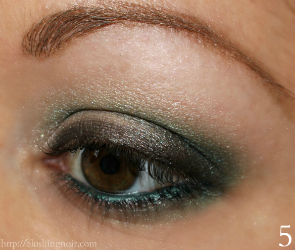 Make Up For Ever Artist Eye Shadows Night Look Tutorial 2