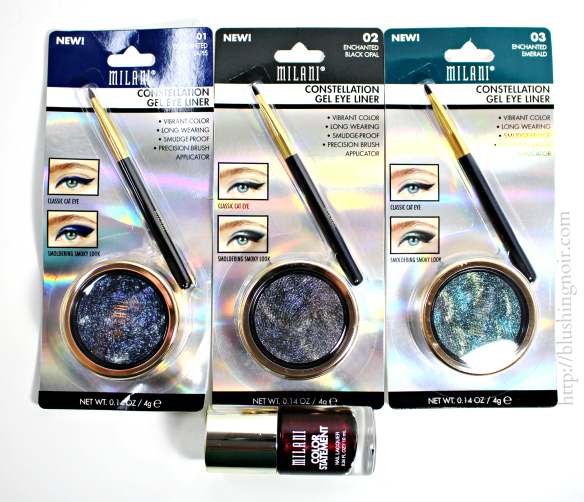 Milani Constellation Gel Eye Liner Nail Polish Review