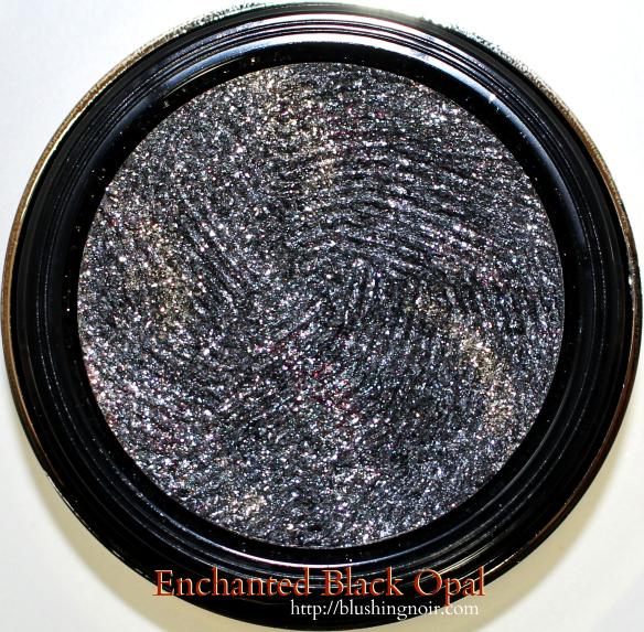 Milani Enchanted Black Opal Constellation Gel Eye Liner Swatches Review