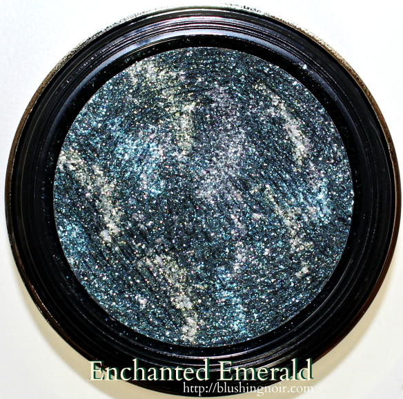 Milani Enchanted Emerald Constellation Gel Eye Liner Swatches Review