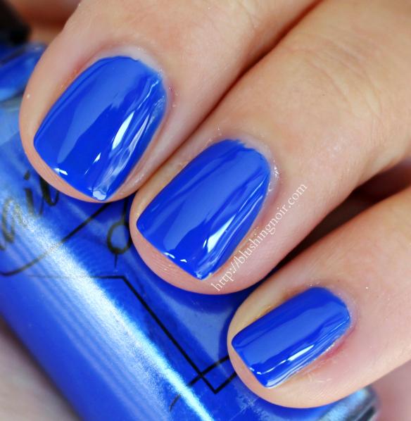 Nailtini Blue Magic Nail Polish Swatches