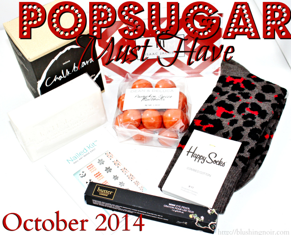 October 2014 POPSUGAR Must Have Box Review