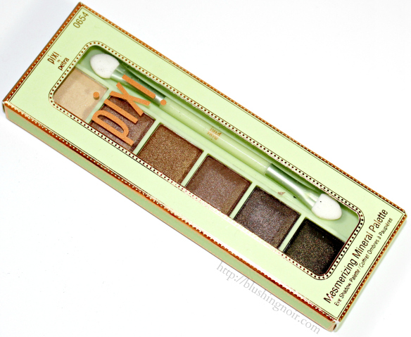 Pixi Rich Gold Mesmerizing Mineral Palette review
