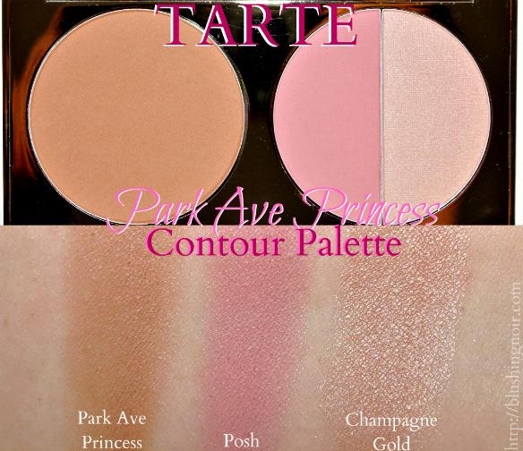 Tarte Park Ave Princess Contour Palette Swatches