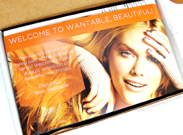 Wantable August 2014
