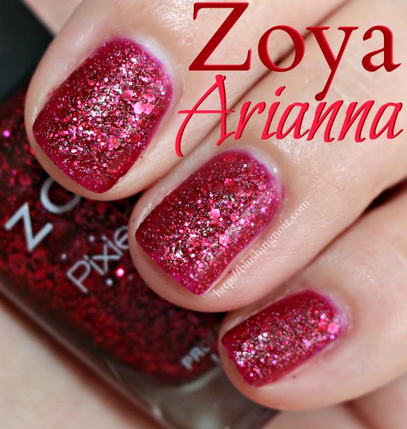Zoya Arianna Nail Polish Swatches