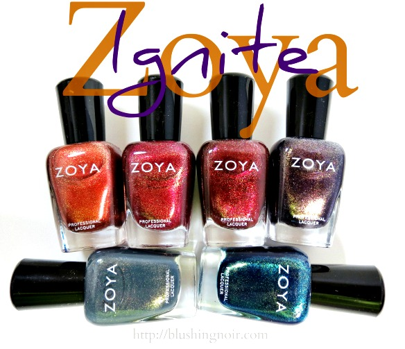 Zoya Ignite Nail Polish Swatches