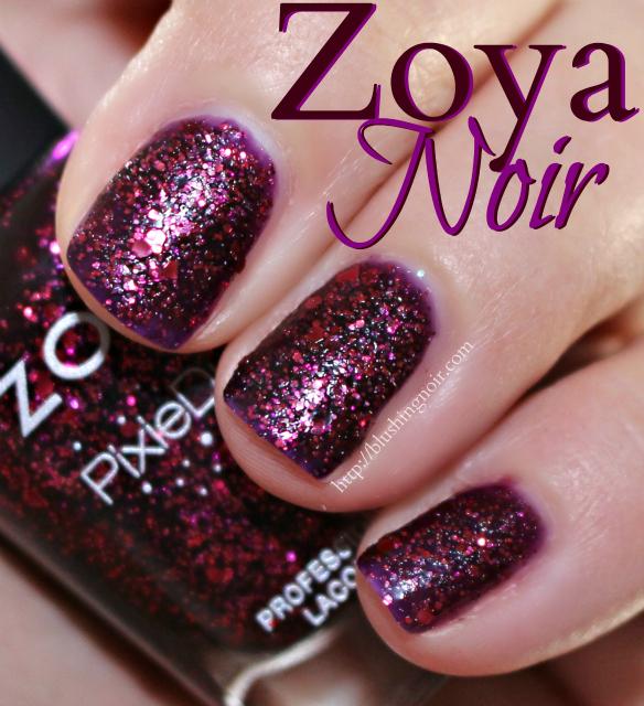 Zoya Noir Nail Polish Swatches