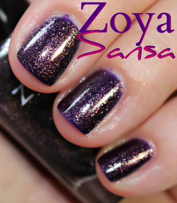 Zoya Sansa Nail Polish Swatches