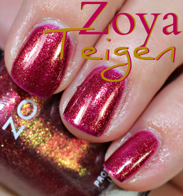 Zoya Teigen Nail Polish Swatches