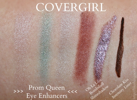 Covergirl prom queen swatches