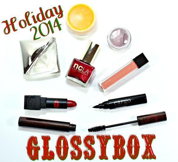 Glossybox USA Holiday 2014 Limited Edition Box