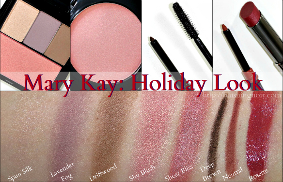 Mary Kay Holiday Beauty Look