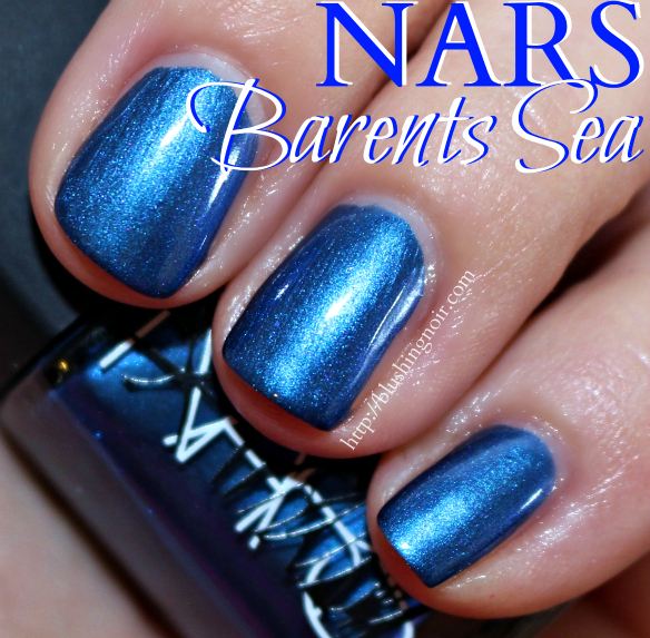 NARS Barents Sea Nail Polish Swatches