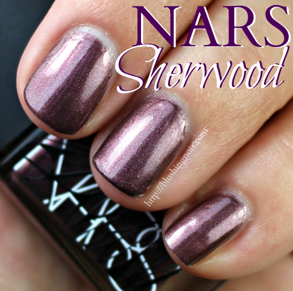 NARS Sherwood Nail Polish Swatches