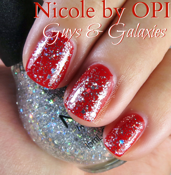 Nicole by OPI Guys & Galaxies Nail Polish Swatches
