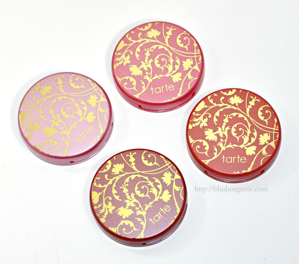 Tarte Chic to Cheek Deluxe Amazonian Clay Blush Set packaging