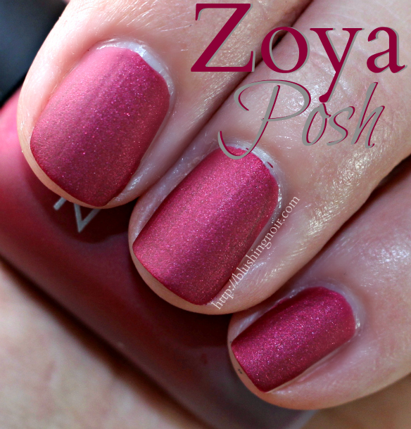 Zoya Posh Nail Polish Swatches