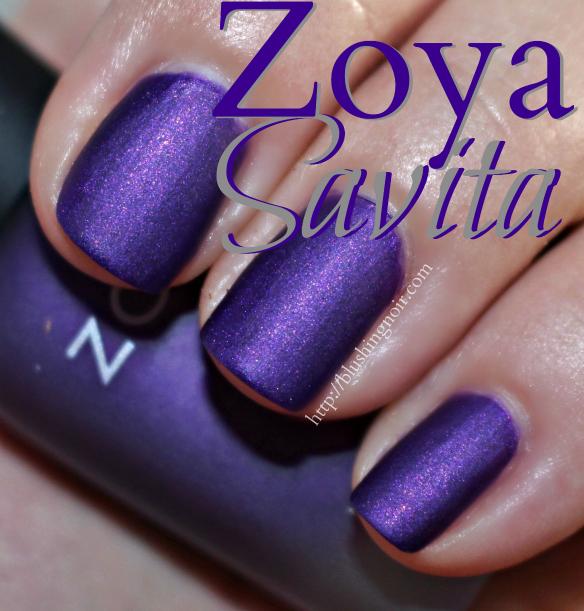 Zoya Savita Nail Polish Swatches