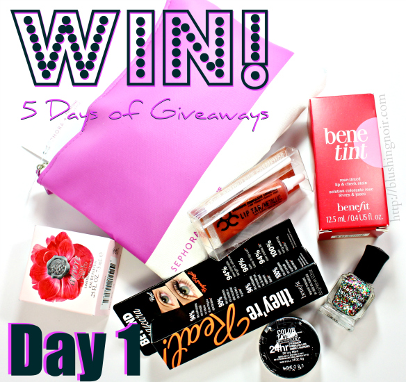 5 Days of Giveaways DAY 1