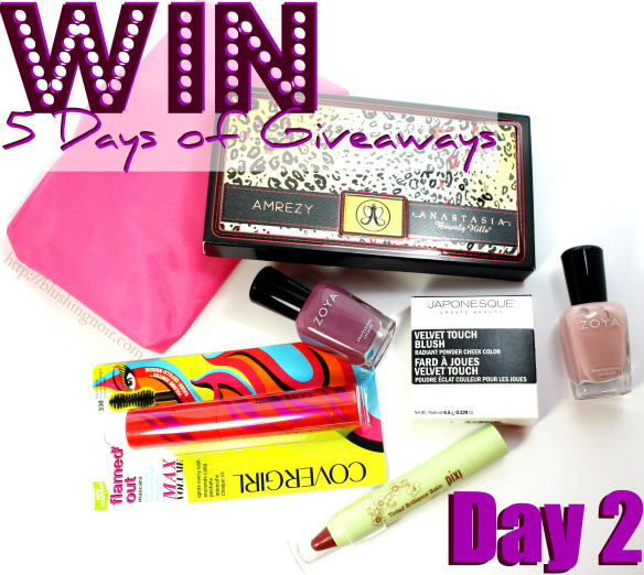 5 Days of Giveaways Day 2
