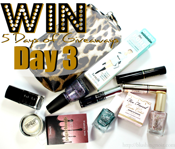 5 Days of Giveaways Day 3