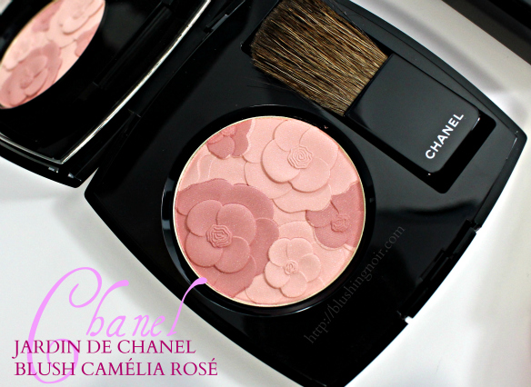 Chanel JARDIN DE CHANEL BLUSH CAMÉLIA ROSÉ Swatches Review