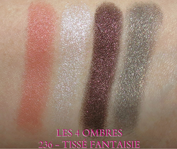 Chanel TISSÉ FANTAISIE Eye Shadow Swatches
