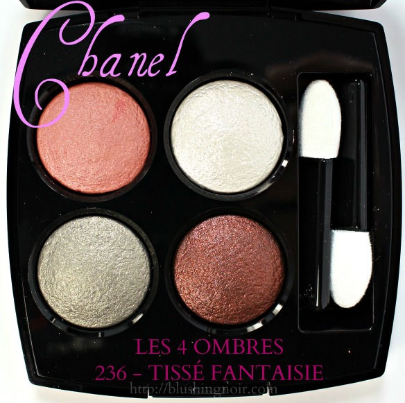 Chanel Tisse Fantaisie Les 4 Ombres Review