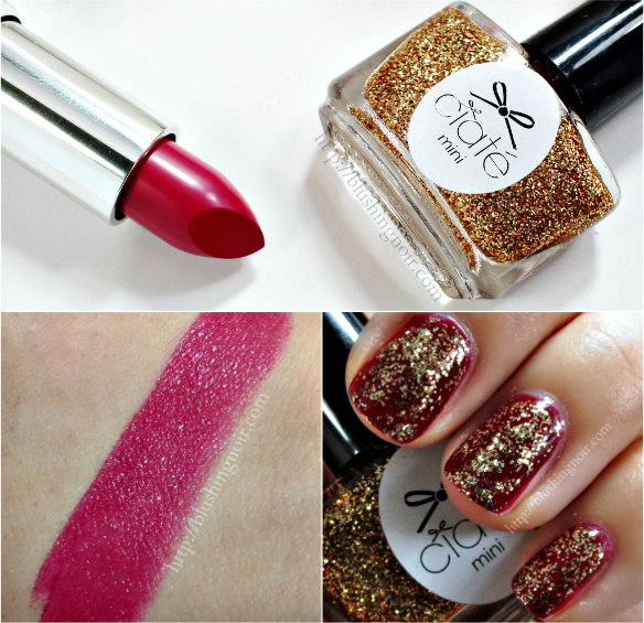 December 2014 glossybox swatches