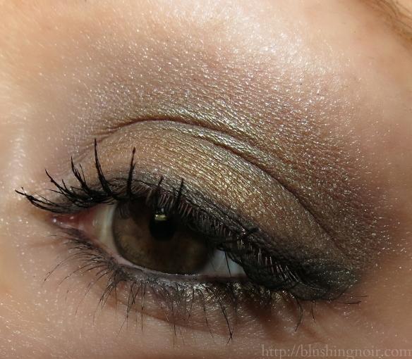 Dior Golden Reflections Eyeshadow Palette eye look